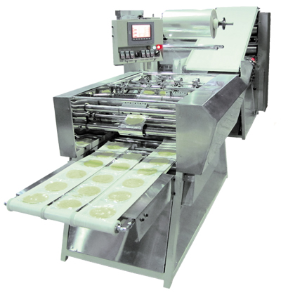 Packaging machines and bread dough